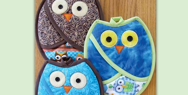 Owl Pot Holders Will Spice Up Your Kitchen