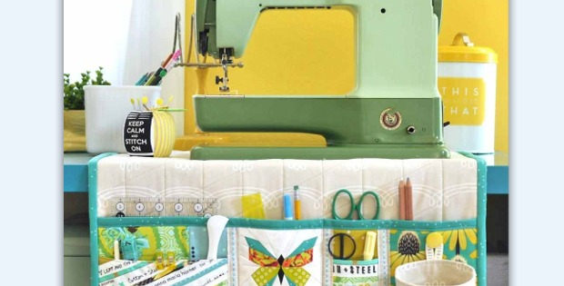 Sewing Machine Mat Will Keep Things Neat And Tidy