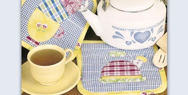 Teatime Pot Holders
