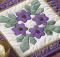 Circle of Violets Quilt Pattern