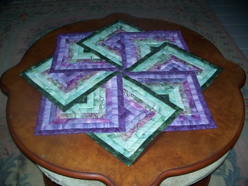 Strata Star Table Topper