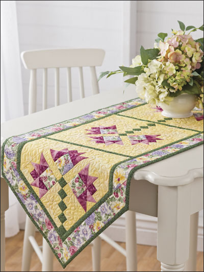 Lilies of the Field Table Topper