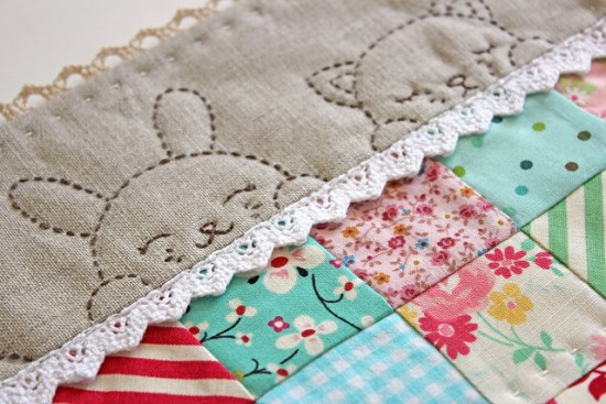 Baby Quilt Border Treatment