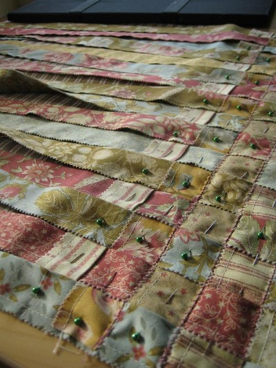 Charming Woven Jelly Roll Rug Quilting Digest