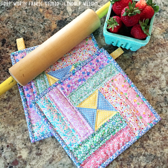30's Pot Holders Tutorial