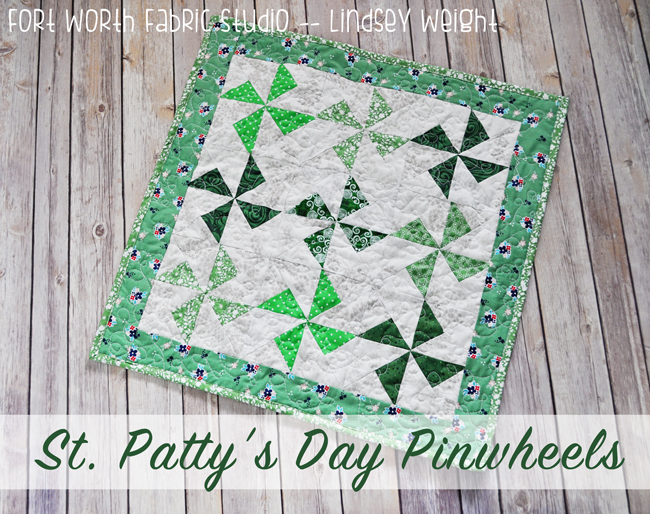 St. Patty's Day Pinwheels
