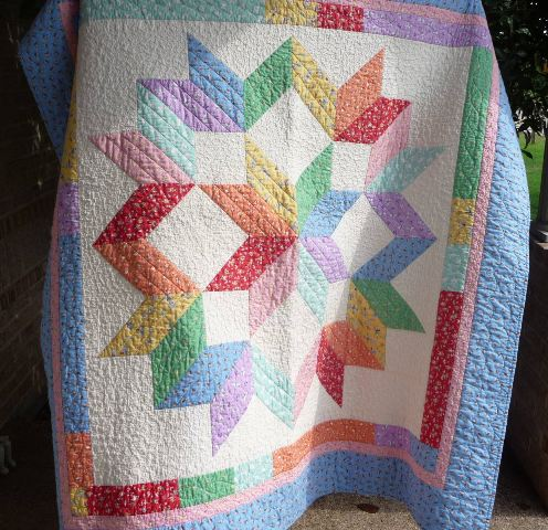 Carpenter's Star Baby Quilt