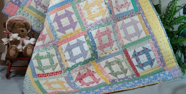 Churn Dash Quilt Pattern
