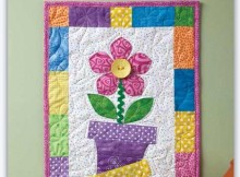 Spring Skinny Wall Quilt
