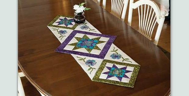 Star Flower Table Runner
