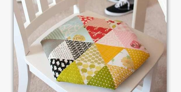 Triangle Pillow Tutorial