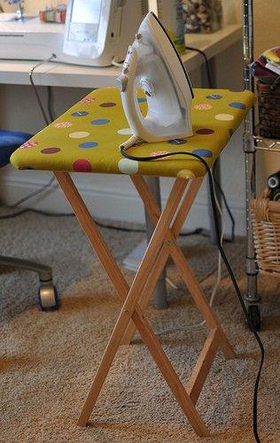 DIY Mini Ironing Table