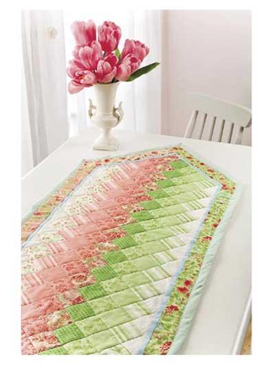 Colorwash Table Runner