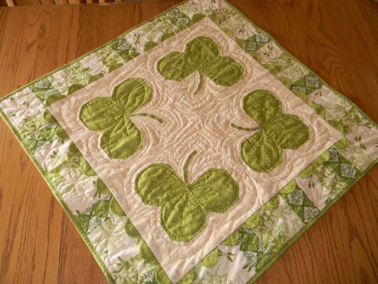 Luck of the Irish Table Topper