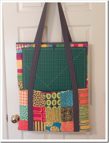 Cutting Mat and Rulers Quilting Tote