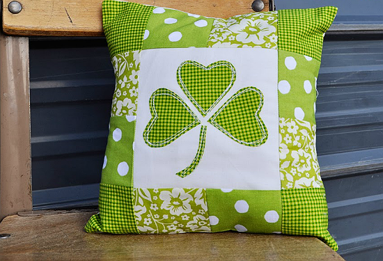 Lucky Shamrock Pillow