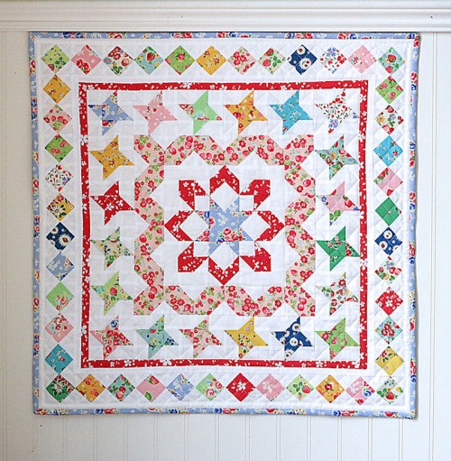 Mini Medallion Quilt Tutorial