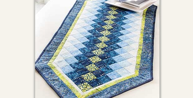 Colorwash Table Runner