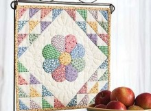 Dresden Bloom Mini Quilt