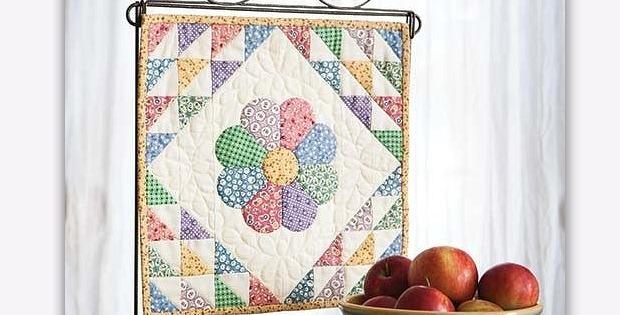 Dresden Bloom Mini Quilt
