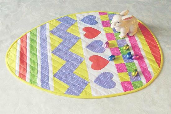 Easter Egg Table Topper