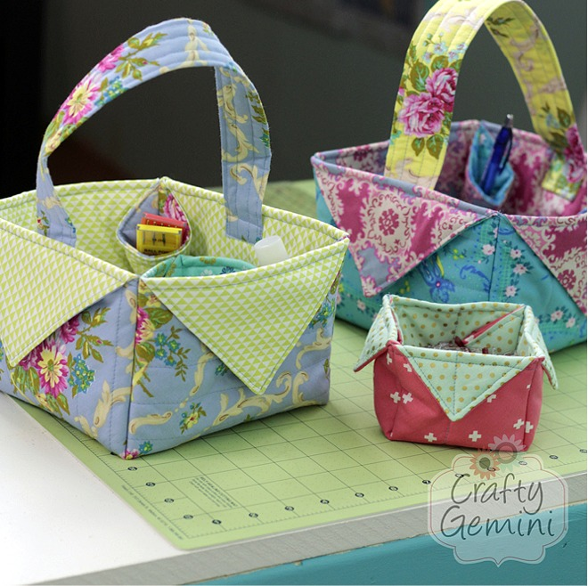 These Baskets Are So Quick And Easy To Make Quilting Digest