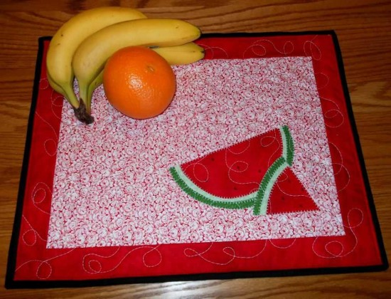 Watermelon Placemats