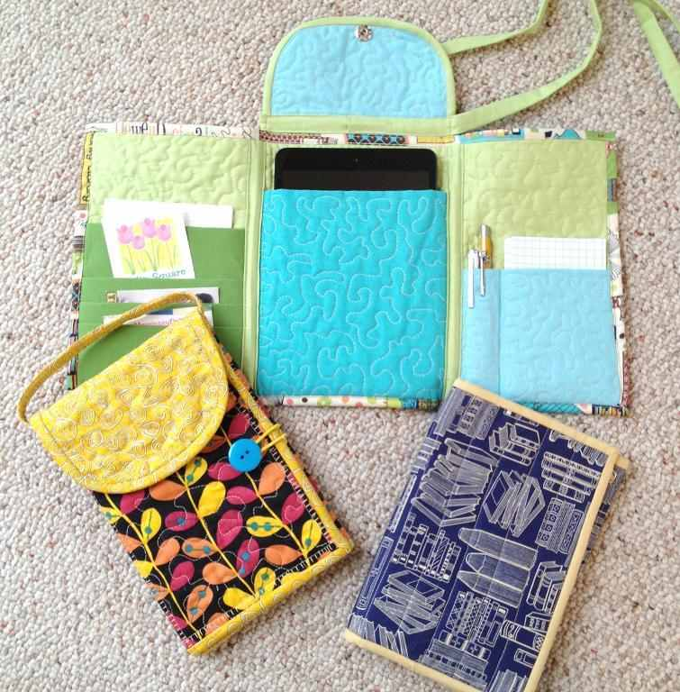 Carry The Essentials In This Small Tablet Tote Quilting