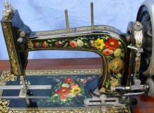 Bradbury's High Arm Family Sewing Machine