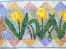Hop Into Spring Table Runner