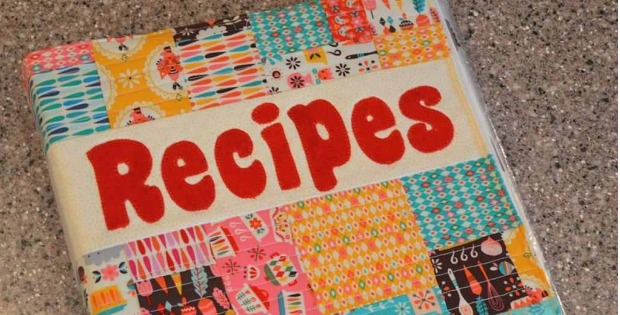 Recipes Binder Cover