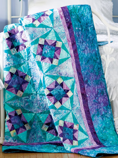 Diamond Twist Quilt