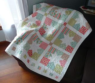 Charming Stars Baby Quilt
