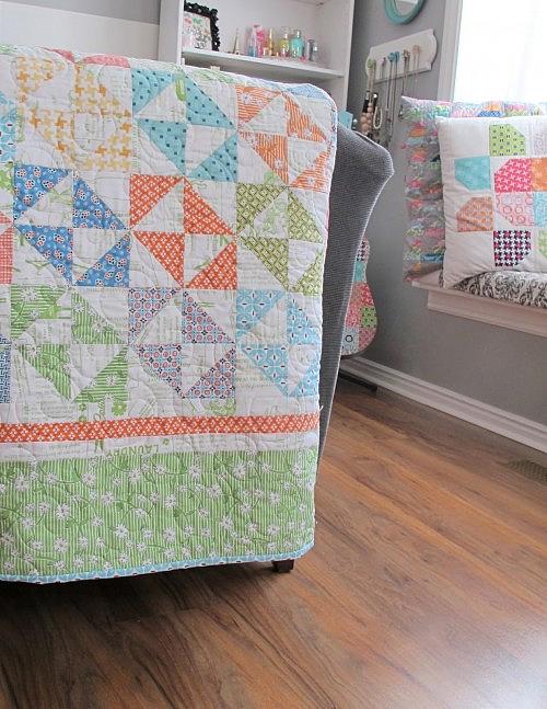 Salt Water Taffy Quilt Pattern
