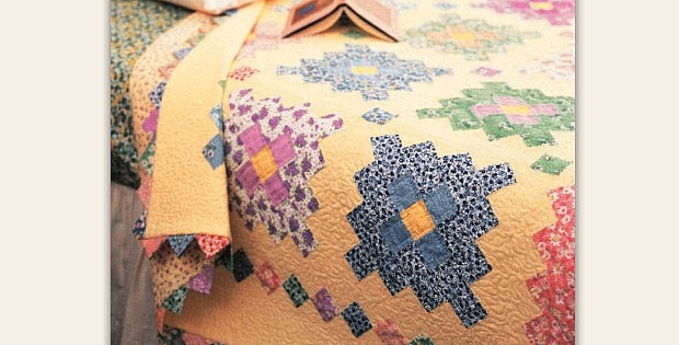 Almost a Flower Garden Quilt Pattern