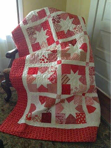 Charming Stars Quilt Pattern