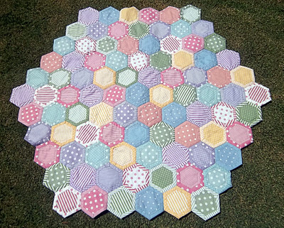 Quilt as You Go Hexies