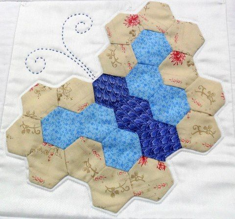 This Hexie Butterfly Is So Sweet Quilting Digest
