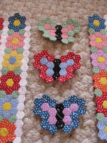 Mini Hexie Butterflies