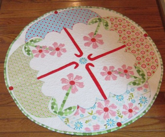 April Showers Table Topper
