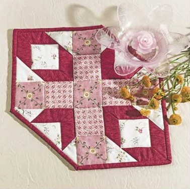 Hexagon Star Candle Mat