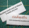 Quilt Care Label Tutorial