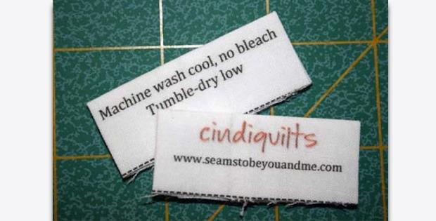 Quilt Care Labels