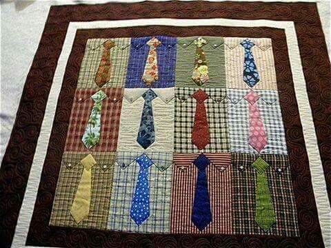 Shirts and Ties Quilt