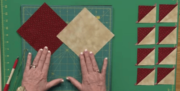 Make 8 half-Square Triangles at a Time