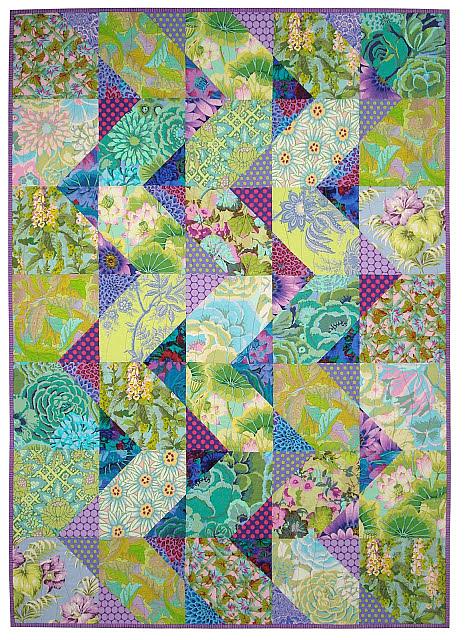 Cascade Quilt Pattern