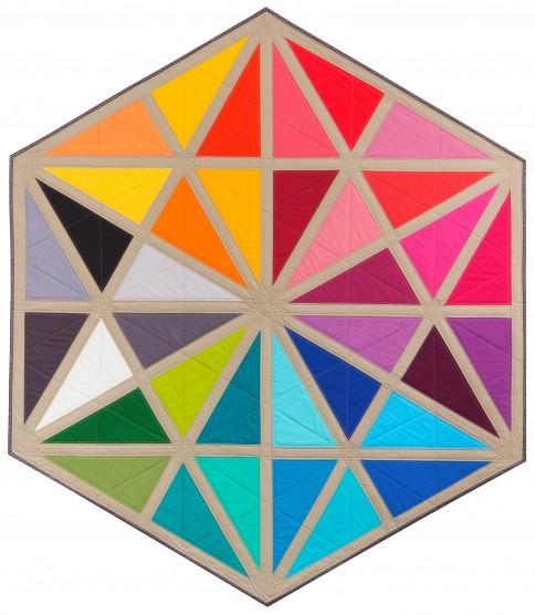 Prismatic Medallion Quilt
