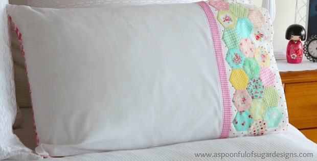 Hexagon Pillowcase