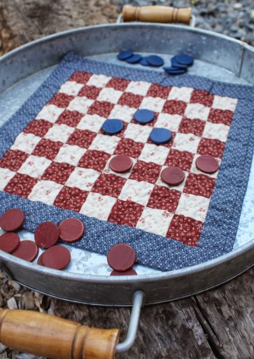 Patriotic Checkerboard
