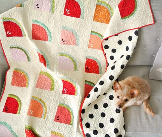 Mod Melons Quilt Pattern
